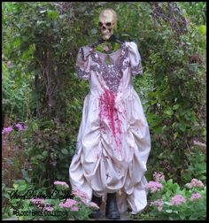 Zombie Bride BLOODY BRIDE Corpse Bride of by SweetDarknessDesigns