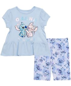 Disney Outfits, Disney Clothes, Kids Outfits, Ted Baker Accessories, Outdoor Apparel, Golf Outfit, Printed Leggings, Short Sleeve Tee, Little Girls