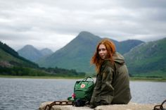 out, kanken, lake and moutain, green is the soul