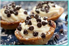 Mini Cannoli Cream Cups - yummy!