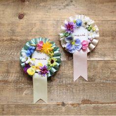 「 DIY*試作品*お花ロゼット 」の画像|はるはなよめ|Ameba (アメーバ)