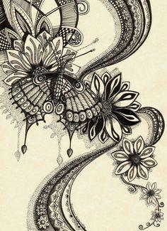 Psychedelic Butterfly 2 by Artwyrd.deviantart.com on @deviantART
