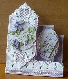 Marianne design dies - Handmade Card using Marianne Creatables Design Dies