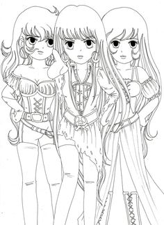 image detail for cute anime coloring pages to print