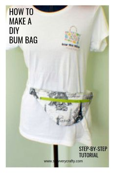 188d70eb760 How to make a DIY Bum bag  pattern and tutorial