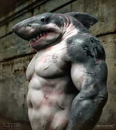 Jawesome!! What if Street Sharks were real?
