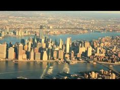 Amazingly-Gorgeous Aerial of NYC, by Airplane (VIDEO); Landing at LaGuardia with Spirit Air. Tour Around The World, Around The Worlds, New York Life, City Lights, Great View, Virtual Tour, Travel Usa, Landing, New York Skyline
