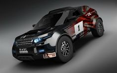 Land-Rover-Range-Rover-Evoque-dakar-rally-front-three-quarter