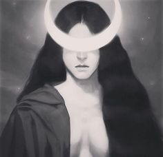 August marks the Festival of Hecate. Day and Night of the Dark Mother. Queen of the witches. Hecate Goddess, Goddess Art, Moon Goddess, Triple Goddess, Witch Aesthetic, Aesthetic Art, Moon Witch, Witch Art, The Witch
