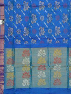 Uppada Saree all over flower design