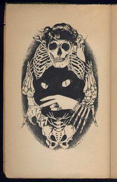 Illustration of Pétrus Borel: Champavert (1947), illustrator: Jean Marembert