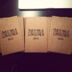 youth group journals for the ones going on the missions trip in August to write down how they see God at work