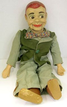 Jerry Mahoney was my first ventriloquist puppet. Santa brought him. In fourth grade I tried performing with him on stage but his mouth froze up and I left stage to a booing crowd.
