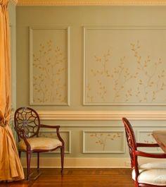 Brian Carter Art and Design - painted art inside molding