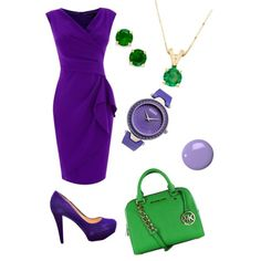 A fashion look from October 2014 featuring Dorothy Perkins dresses, GUESS pumps and MICHAEL Michael Kors handbags. Browse and shop related looks.