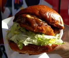 Any time is a good time for a katsu curry sandwich. Japanese food. Katsu Curry. Japanese comfort food.