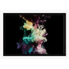 299$ - Offset for West Elm Print, Multicolor Smoke by Jordan Weinrich, Mat, Large