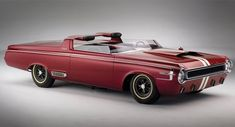 it did not make it to production, a cool concept car in 1964, Dodge Charger