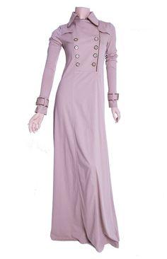 Spring Trench Abaya :: Islamic Fashion, Muslim Fashion, Modest Fashion, Fashion Outfits, Dress With Cardigan, I Dress, Hijab Trends, Abaya Designs, Abaya Fashion