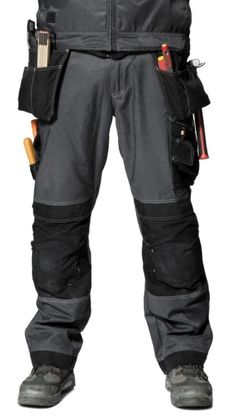 Snickers DuraTwill Trousers with Holsters (SN3212) (Special offer)