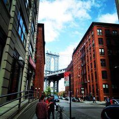 Walking on DUMBO, Brooklyn NYC