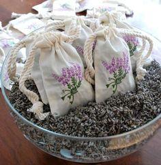 sachets of lavender