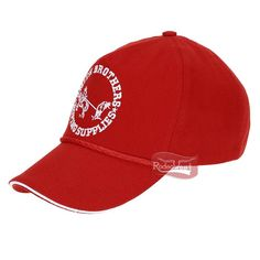 Boné Smith Brothers Vermelho 100% Algodão com Fivela para Regulagem 15991   Mulheres 43b5eb05480