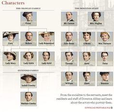 vanity fair characters