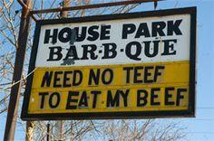 House Park Barbecue Brisket