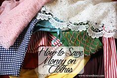 How to Save Money on Clothes - Viva Veltoro