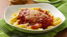 Warmly welcome your family home with the Italian aroma of chicken parmesan slow cooking in the kitchen.