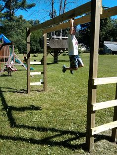 You Can Build Monkey Bars In Your Backyard In A Weekend