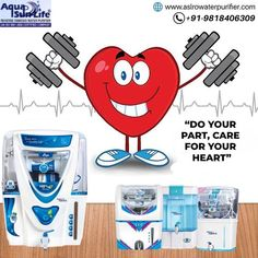 """""""Do your part, care for your heart"""" With ASL RO Water Purifier. ASL Enterprises one of the leading Water Purifier Manufacturers in Gurgaon / Gurugram, Haryana.We are loaded with the most advanced technologies that help us design customized solutions at competitive market prices. 📲: +91- 9818406309 🌐: www.aslrowaterpurifier.com 📧: aslenterprises35@gmail.com #RO #Water #Waterpurifier #purifier #filter #ROFilter #ROwater #WaterRO #Waterfiltering #PureWater #Healthywater Kent Ro Water Purifier, Healthy Water, Filter, Heart, Design, Philtrum, Hearts"""