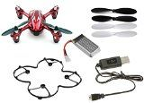 Hubsan X4 H107C Camera Quadcopter BNF with Extras (Red with Silver stripes) - FAST FREE SHIPPING FROM Orlando, Florida USA! - http://dronesheaven.ianjweboffers.com/hubsan-x4-h107c-camera-quadcopter-bnf-with-extras-red-with-silver-stripes-fast-free-shipping-from-orlando-florida-usa/
