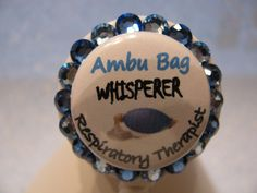 Respiratory Therapy Swarovski Crystal Bling Name by sparklinghope, $11.00