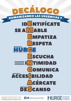 Decálogo de Humanización en Urgencias y Emergencias – HURGE
