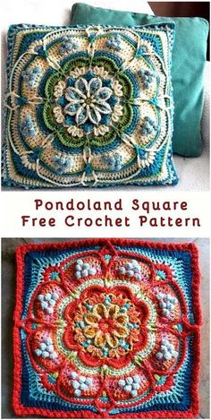 The Free Pattern A vast super-finished, beautiful flower square. From BoHo to Classic Neutrals, this square looks flawless in any colorway! This square was composed in view of a completed item. Meaning, once you have finished the square you will have a prepared estimated pad cover frontispiece. Full article with the patterns is below. SAVE THIS PATTERN …