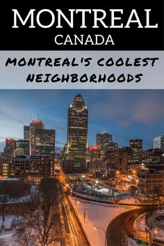 Where to Stay in Montreal: Advice from a travel-writer and Quebec expert about the best neighborhoods to stay in Montreal, Canada!  If you're interested in staying in one of Montreal's coolest neighborhoods, this guide is what you need!
