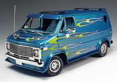 79 Chevy Van (minus the flames, & add 2 more sunroofs)