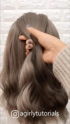 Easy Hairstyles For Long Hair, Cute Hairstyles, Wedding Hairstyles, Hairstyles Videos, Everyday Hairstyles, Formal Hairstyles, Beautiful Hairstyles, Cute Girl Haircuts, Natural Wavy Hairstyles