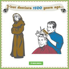 #TBT to your dentist circa 1500 years ago #deltadental