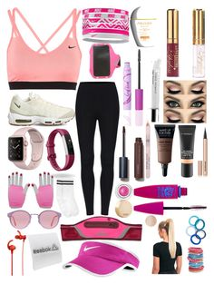 """Out on a run 🎽"" by lilyalicewalker ❤ liked on Polyvore featuring NIKE, Fitbit, Boohoo, RetroSuperFuture, adidas, Sony, Reebok, Shiseido, MAC Cosmetics and tarte"