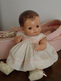 Big Baby Dolls, Newborn Baby Dolls, Baby Toys, Old Dolls, Antique Dolls, Vintage Dolls, Victorian Toys, Effanbee Dolls, Realistic Baby Dolls
