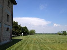 The landscape @Stylenda, Made In Italy #countryside #hfarm #blue #sky #summer #sun #workplace