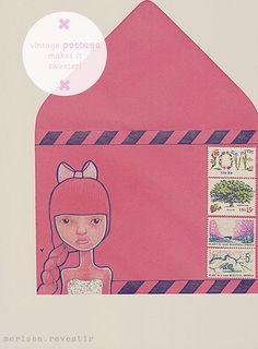#snailmail #envelope