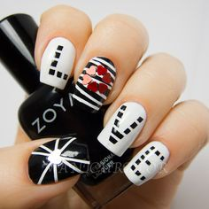 manicurator: Love Nail Art for Digit-al Dozen and Geometric Challenges with Zoya