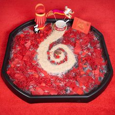 Early Years Tuff Tray for Chinese New Year - Classroom Ideas Early Years Tuff Tray for Chinese New Year - Classroom Ideas Chinese New Year Crafts For Kids, Chinese New Year Activities, Chinese Crafts, New Years Activities, Spring Activities, Craft Activities For Kids, Art For Kids, Preschool Ideas, Multicultural Activities