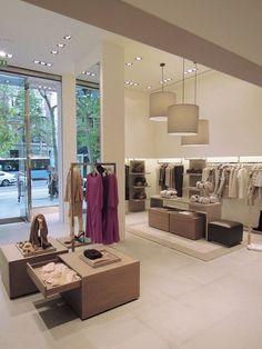 View full picture gallery of Marina Rinaldi - Madrid - 2011 Boutique Design, Bridal Boutique Interior, Boutique Decor, Design Exterior, Shop Interior Design, Clothing Store Interior, Craftsman Interior, Retail Store Design, Store Interiors