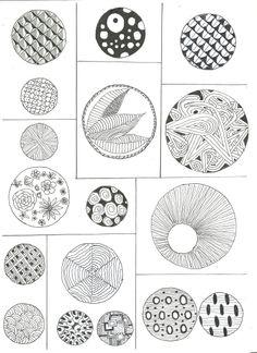 Tangle Doodle, Tangle Art, Doodle Art, Shape Art, Sketchbook Ideas, Zentangle Patterns, Hand Engraving, Line Art, How To Draw Hands