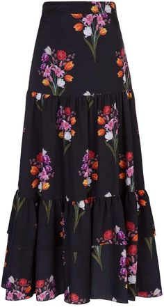 Borgo De Nor Emme Floral Skirt # Outfits falda Harrods, designer clothing, luxury gifts and fashion accessories Hijab Fashion, Fashion Dresses, Fashion Fashion, Luxury Fashion, Floral Skirt Outfits, Floral Skirts, Hipster Looks, Luxury Gifts, Ladies Dress Design